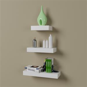 Straight Floating Shelf Set - R 550.00