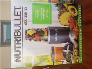 Nutribullet 600w 8pc brand new