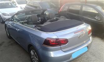 2013 VW Golf cabriolet 1.4TSI Highline auto