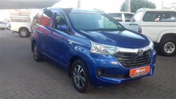 2016 Toyota Avanza 1.3 S