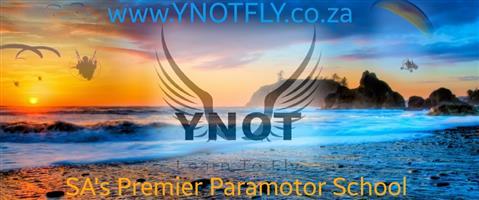 Paramotor training and Sales
