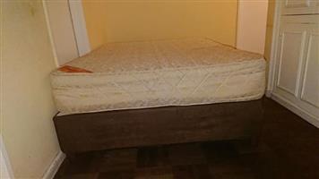 Posture active double bed solid matress very good comfort