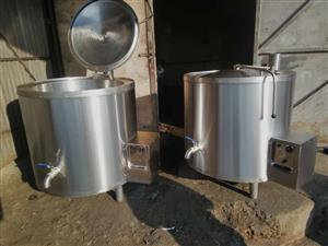 Electrical and gas pots cooking pots on special