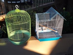 Green and blue hamster cages for sale