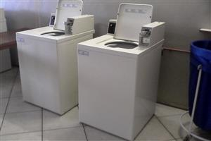 COIN OPERATED LAUNDRY WASHING MACHINES FOR SALE