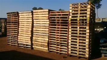 Wooden Pallets used but good condition