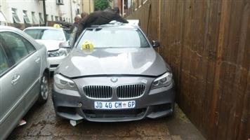 CURRENTLY STRIPPING BMW F10 520I AUTO M SPORT