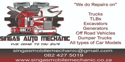 singas mobile diesel repairs