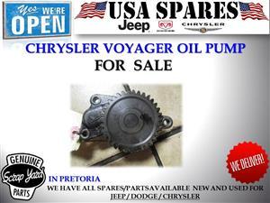 Chrysler Voyager 2.5 used oil pump for sale