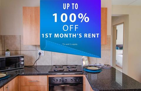 1st Month's rent FREE!*
