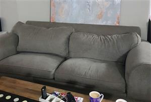 2 Weatherly couches in excellent condition for sale.