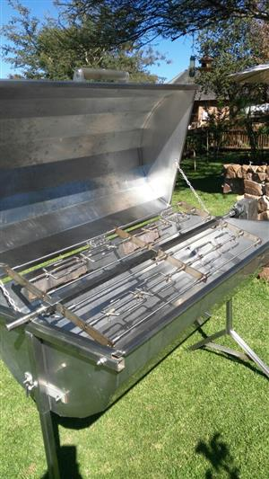 Stainless Steel Spit Braai