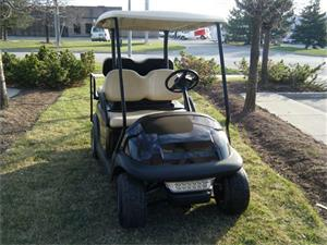 Black bodied Golf Buggy that you may not see available everywhere