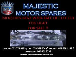 MERCEDES BENZ W204 FACELIFT LED LEFT HAND FOG LIGHT