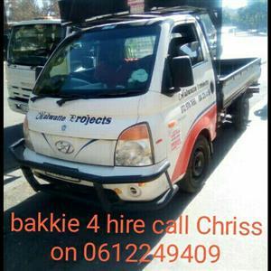 bakkle 4 hire