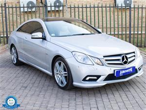 2012 Mercedes Benz E Class E250CGI cabriolet Elegance