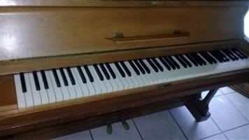 Bach upright piano