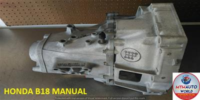 IMPORTED USED HONDA B18 MANUAL GEARBOX