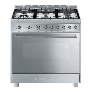 SMEG - 90cm 4 Burner Gas/Electric Cooker
