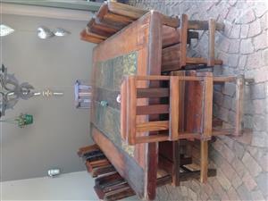 Sleeper Wood 8 Seater
