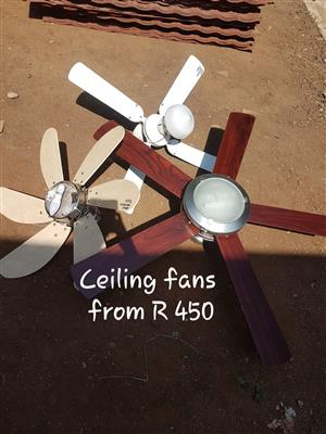 Ceiling Fans  from R 450