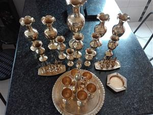 30 pices brass ware R500
