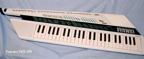 Yamaha SHS-200 Keytar - complete with shoulder strap and instruction manual