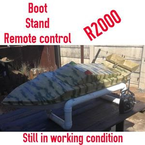 Boot stand remote control