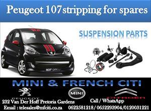BIG PROMOTION ON Peugeot 107/1007 SUSPENSION PARTS