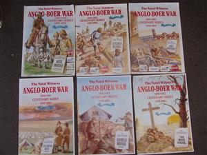 Anglo-Boer War Series - series 1 to 6 - Printed in 1999