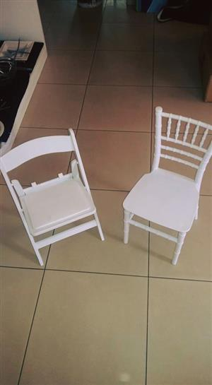 Tiffany chairs and Wimbledon chairs for both adults and kids big sale to the public