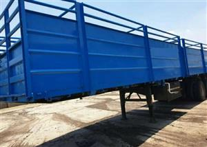 Used 2000 30 Ton Double Cattle Trailer for sale