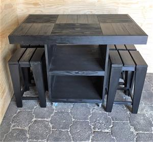 Kitchen Island Farmhouse series 1200 Combo - Stained