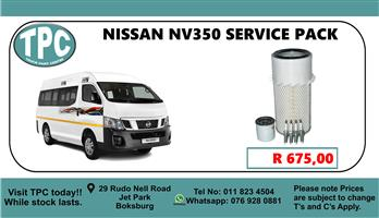 Nissan NV350 Service Pack - For Sale at TPC.