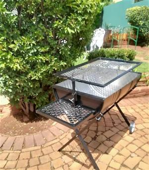 Fathers Day Adjustable Drum braai stand Special