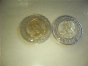 Iam selling Mandela centenary coins