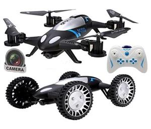 Sceedo 2 In 1 Remote Controlled Flying Quadcopter