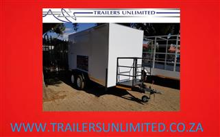 TRAILERS UNLIMITED. DOUBLE AXLE CATERING MOBILE KITCHENS.