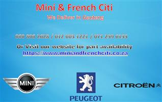 WE ARE Currently Stripping  All Models of Citroen Mini and Peugeot.