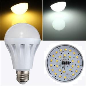 5W 220V LED LIGHT BULB AVAILABLE IN E27 OR B22 COOL WHITE OR WARM WHITE