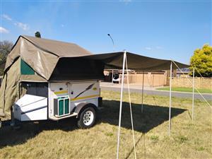 Echo 3 4x4 camping trailer