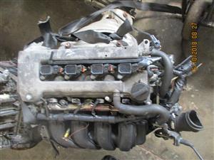 Toyota Corolla 1zz/3zz/4zz low mileage engine for sale