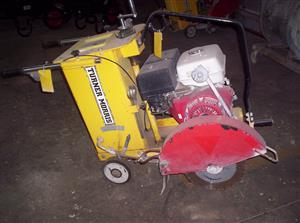 Great Condition Turner Morris Concrete Cutter for Sale.