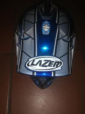 Off road motorbike helmet
