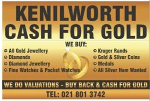 Gold Buyers - Cash 4 Gold - Kenilworth Gold Exchange