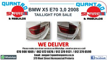 BMW x5 E70 3.0D 2008 Taillights for sale