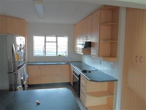 kitchen-Beech Wrap Kitchen in GOOD Condition!