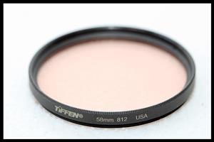 58mm - TIFFEN Warm 812 Filter