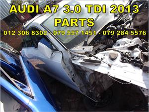 Audi A7 3.0 TDI Replacement Parts