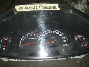 Ford Fairmont / Fairlane instrument cluster